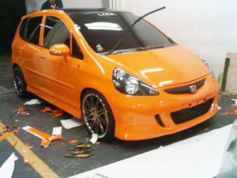 Wrapping Honda Jazz