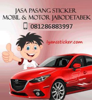 Sticker Mobil Panggilan