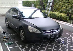 Jasa Pasang Wrapping Sticker Honda Accord