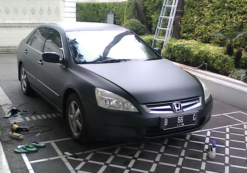 Jasa Pasang Wrapping Sticker Honda Accord