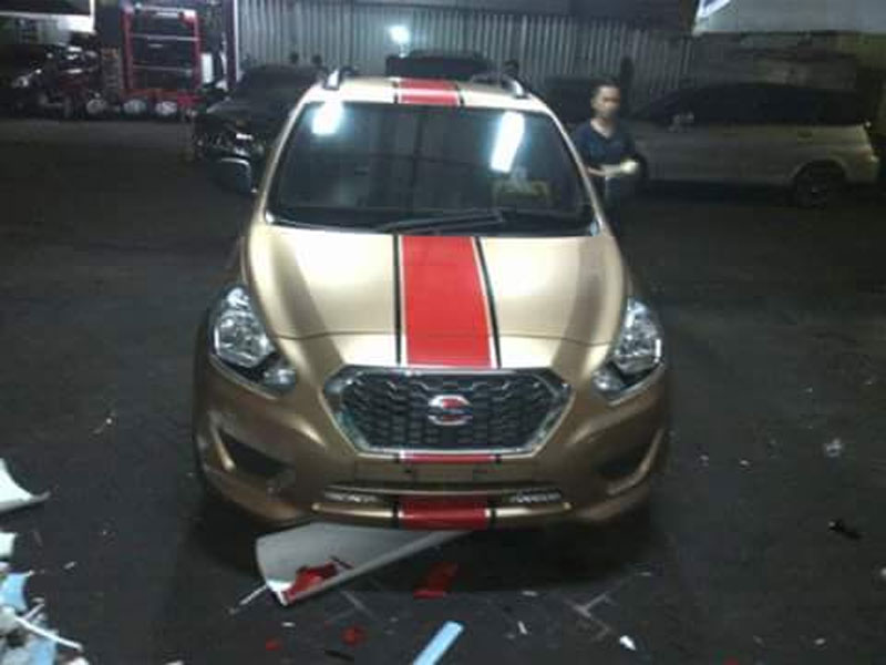 Wrapping Sticker Datsun