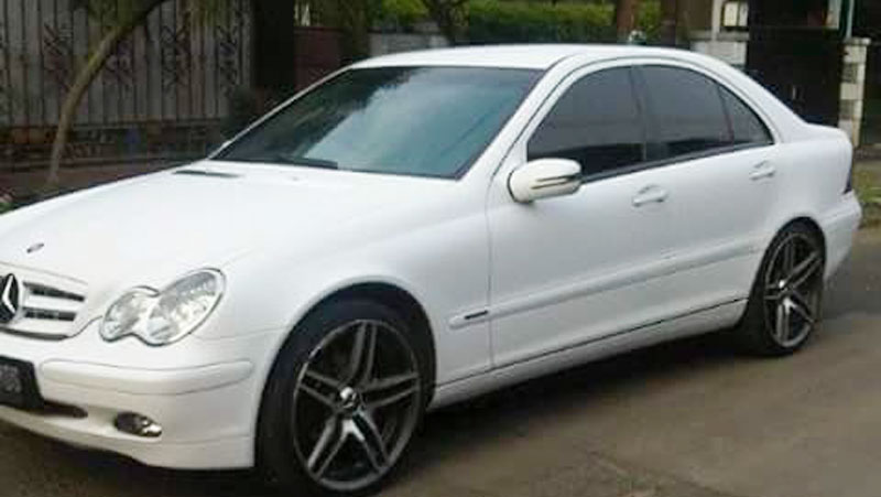 Wrapping Sticker Mercedes Benz